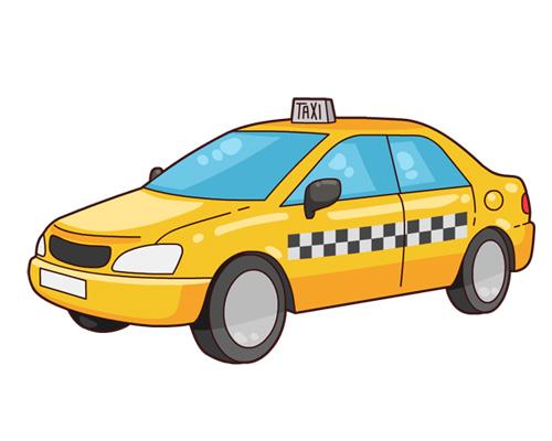 Такси по-английски - taxi [ˈtæksɪ]