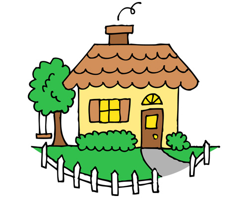 Большинство англичан живут в домах