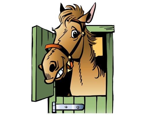 stable [steɪbl] по-английски - конюшня, хлев, стойло